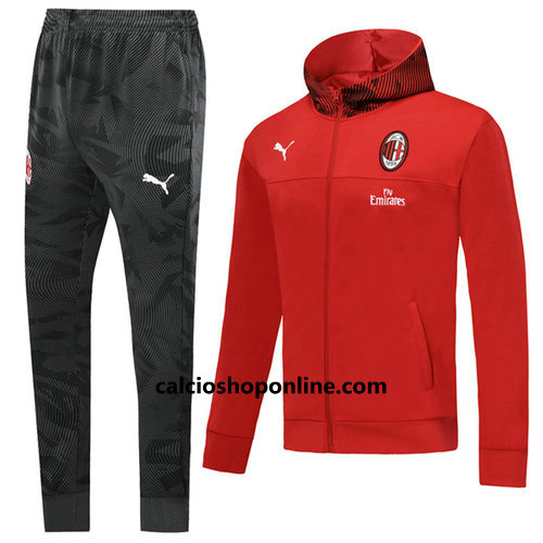 giacca rosso AC Milan 2020